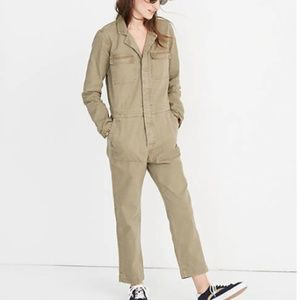 NEW Madewell Cotton Slim Coverall Jumpsuit Sz XS!